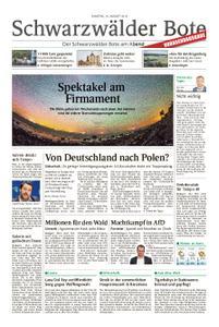Schwarzwälder Bote Blumberg - 10. August 2019