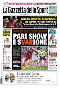 La Gazzetta dello Sport Roma – 03 dicembre 2018