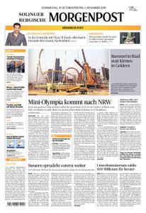 Solinger Morgenpost – 31. Oktober 2019