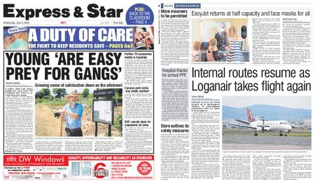 Express and Star City Edition – June 03, 2020