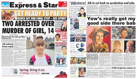 Express and Star City Edition – April 14, 2018