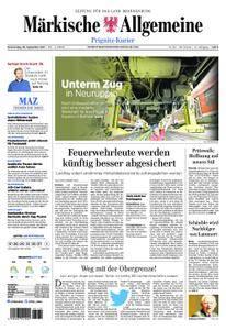 Märkische Allgemeine Prignitz Kurier - 28. September 2017