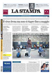 La Stampa Torino Provincia e Canavese - 31 Marzo 2020