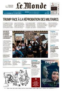 Le Monde du Vendredi 5 Juin 2020