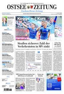 Ostsee Zeitung Wolgast - 12. November 2018