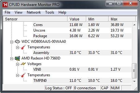 CPUID HWMonitor Pro 1 17 + Portable / AvaxHome