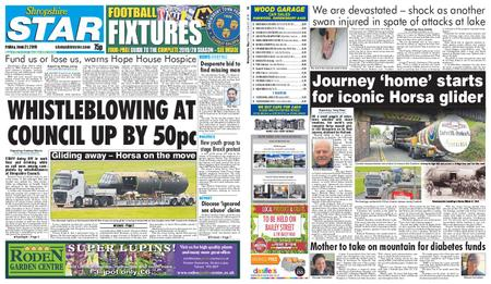 Shropshire Star Shrewsbury Edition – June 21, 2019