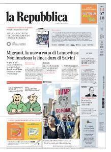 la Repubblica - 14 Luglio 2018
