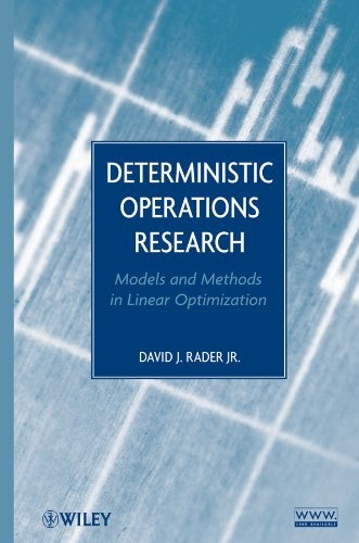 Deterministic Operations Research: Models and Methods in Linear Optimization (repost)