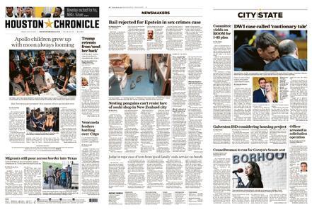 Houston Chronicle – July 19, 2019
