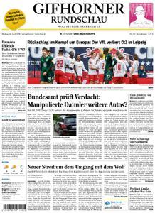 Gifhorner Rundschau - Wolfsburger Nachrichten - 15. April 2019