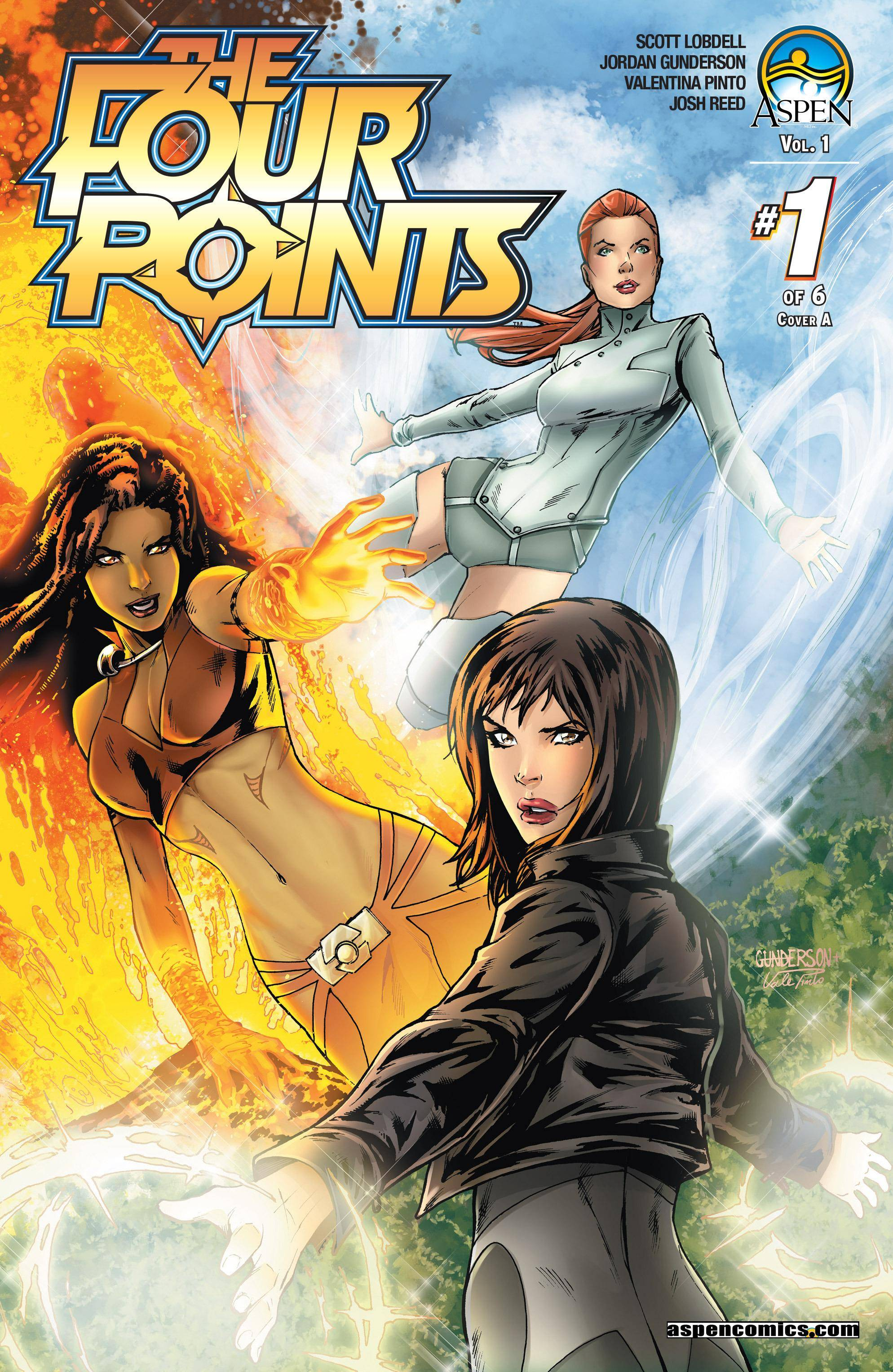 The Four Points Vol 1 001 2015 Digital HD