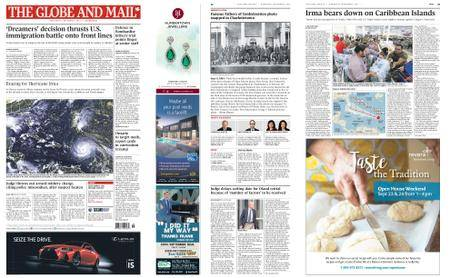 The Globe and Mail – September 06, 2017