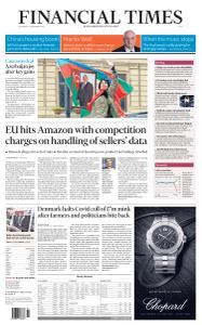 Financial Times Asia - November 11, 2020