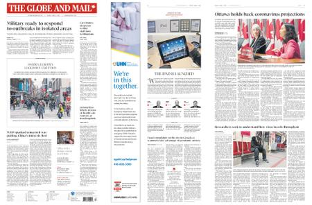 The Globe and Mail – April 03, 2020