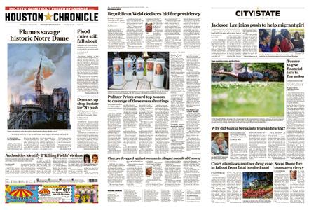 Houston Chronicle – April 16, 2019