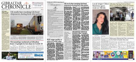 Gibraltar Chronicle – 18 January 2021