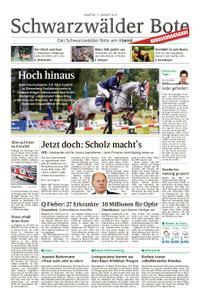 Schwarzwälder Bote Hechingen - 17. August 2019