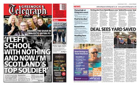 Greenock Telegraph – August 17, 2019