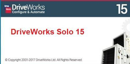DriveWorks Solo v15 SP0 for SolidWorks 2010-2017 (x86/x64)