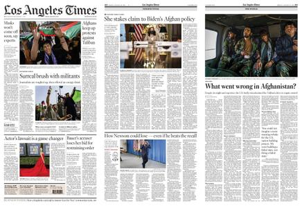 Los Angeles Times – August 20, 2021
