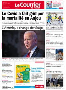 Le Courrier de l'Ouest Cholet – 20 janvier 2021