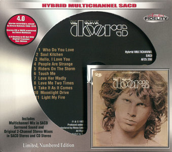The Doors - The Best Of The Doors (1973) [Audio Fidelity 2015] MCH PS3 ISO + Hi-Res FLAC