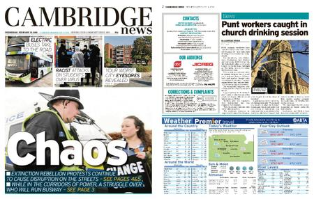 Cambridge News – February 19, 2020
