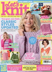 Let's Knit – January 2021