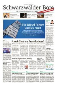Schwarzwälder Bote Hechingen - 02. Januar 2019