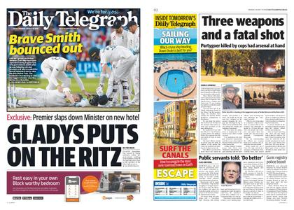 The Daily Telegraph (Sydney) – August 19, 2019