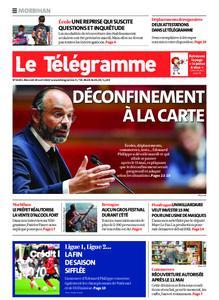 Le Télégramme Auray – 29 avril 2020