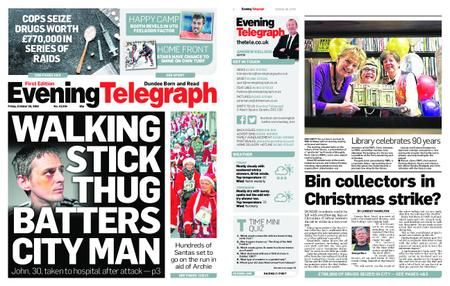 Evening Telegraph First Edition – October 26, 2018
