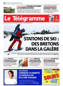 Le Télégramme Ouest Cornouaille – 22 janvier 2021