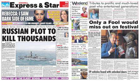 Express and Star Sandwell Edition – January 27, 2018