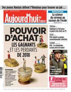 Aujourd'hui en France du Mercredi 10 Janvier 2018