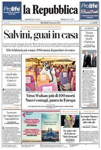 la Repubblica - 29 Gennaio 2020