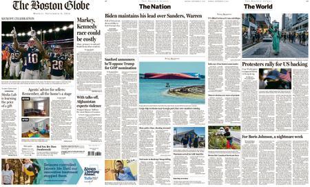 The Boston Globe – September 09, 2019