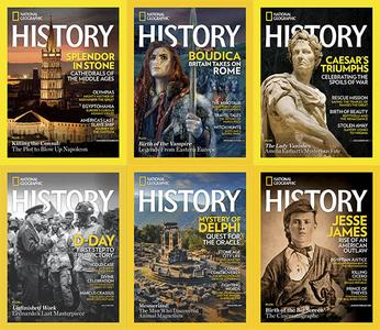 National Geographic History - Full Year 2019 Collection