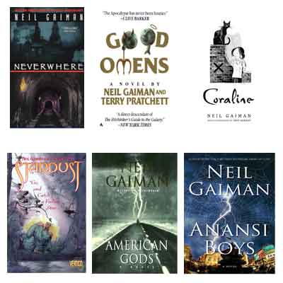 Neil Gaiman - 7 ebooks