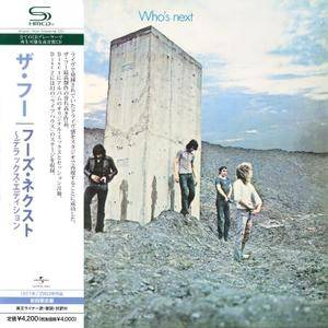 The Who - Who's Next (1971) [2008, Japanese 2 SHM-CDs] {Deluxe Edition}