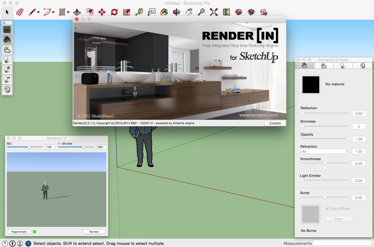 VRay для SketchUp Скачать Mac OS