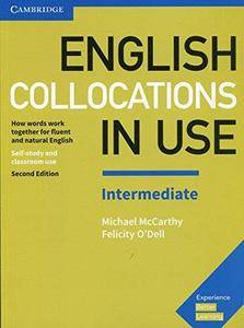 English Collocations in Use Intermediate Book with Answers: How Words Work Together for Fluent and Natural English (Repost)