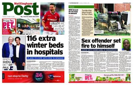 Nottingham Post – October 09, 2018