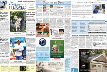 Bucks County Herald – September 16, 2020