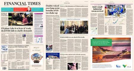 Financial Times Europe – 22 December 2017