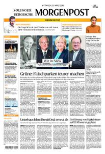 Solinger Morgenpost – 13. März 2019