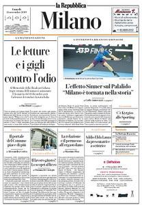 la Repubblica Milano - 11 Novembre 2019
