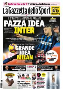 La Gazzetta dello Sport Roma – 31 ottobre 2018
