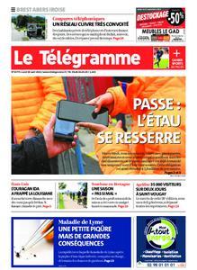 Le Télégramme Brest Abers Iroise – 30 août 2021